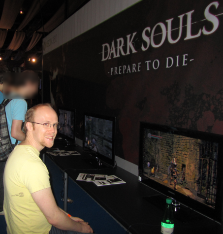 Playing Dark Souls